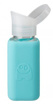 beViVID Glasflasche Monster blau