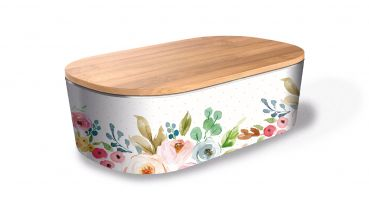 Bamboo Lunchbox Deluxe - Romantic Flowers