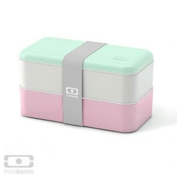 Monbento Lunchbox - mint/rosa