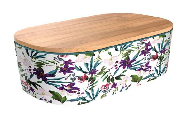 Bamboo Lunchbox Deluxe - Jungle Flowers