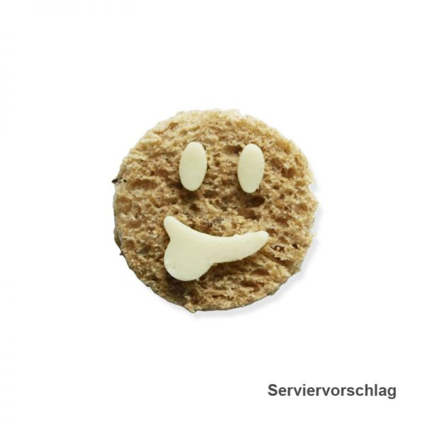 Serviervorschlag - Smiley Brote